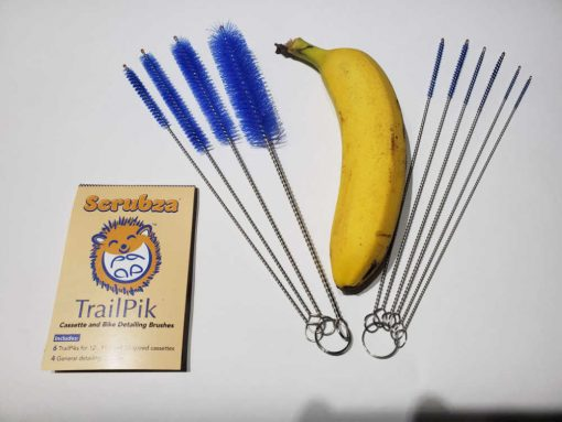 Scrubza Trailpik Banana Comparison
