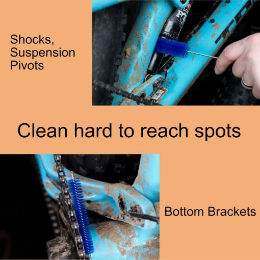 Clean hard to reach spots